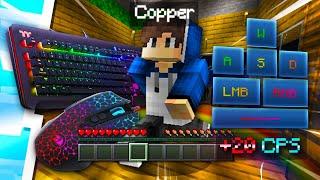 😱Mi Primera Vez Con Teclado Y Mouse En Mcpe🔥||Copper AG