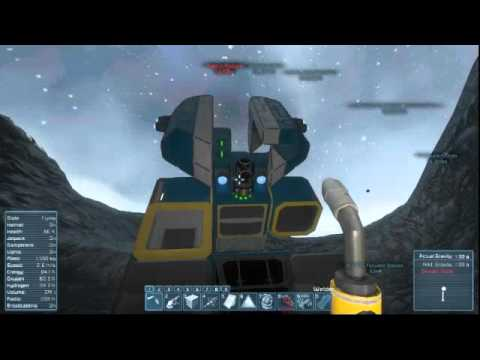 Space Engineers Episode 3.5 Ship Repairs and Salvaging