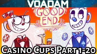 Casino Cups Part 1 through 20 (All Parts!)  Huge Cuphead Comic Dub/Animation Compilation!