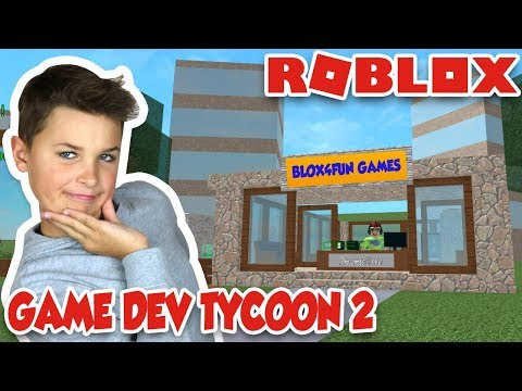 MAKING MY OWN ROBLOX GAME! GAME DEVELOPMENT TYCOON 2