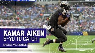 Joe Flacco Hits Kamar Aiken for a Big TD! | Eagles vs. Ravens | NFL Week 15 Highlights