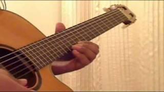 Aane wala Pal Jaanewala Hai - Kishore Kumar - Guitar Solo Instrumental