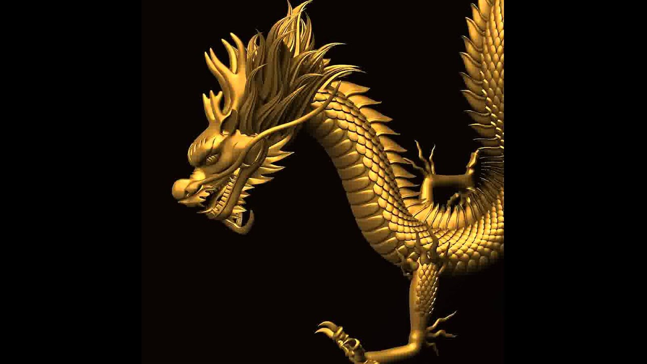 3d model of asian chinese dragon 2 youtube