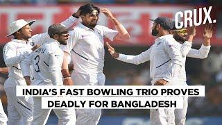 India Goes 1-0 Up Against Bangladesh