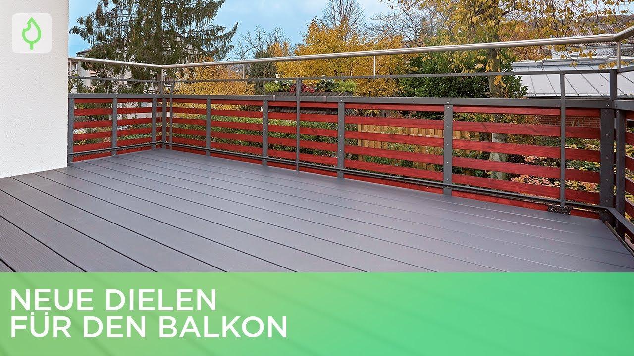 Gut gemocht Neue WPC-Dielen für den Balkon verlegen | Renovieren mit Elmar OA96