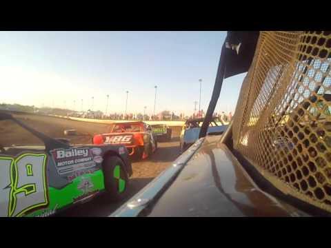 4.23.16---peoria Speedway---Street Stock Heat Race-- incar