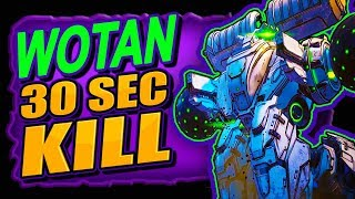 KiII WOTAN in 30 Seconds (1 SH0T=150 Million Damage) BORDERLANDS 3