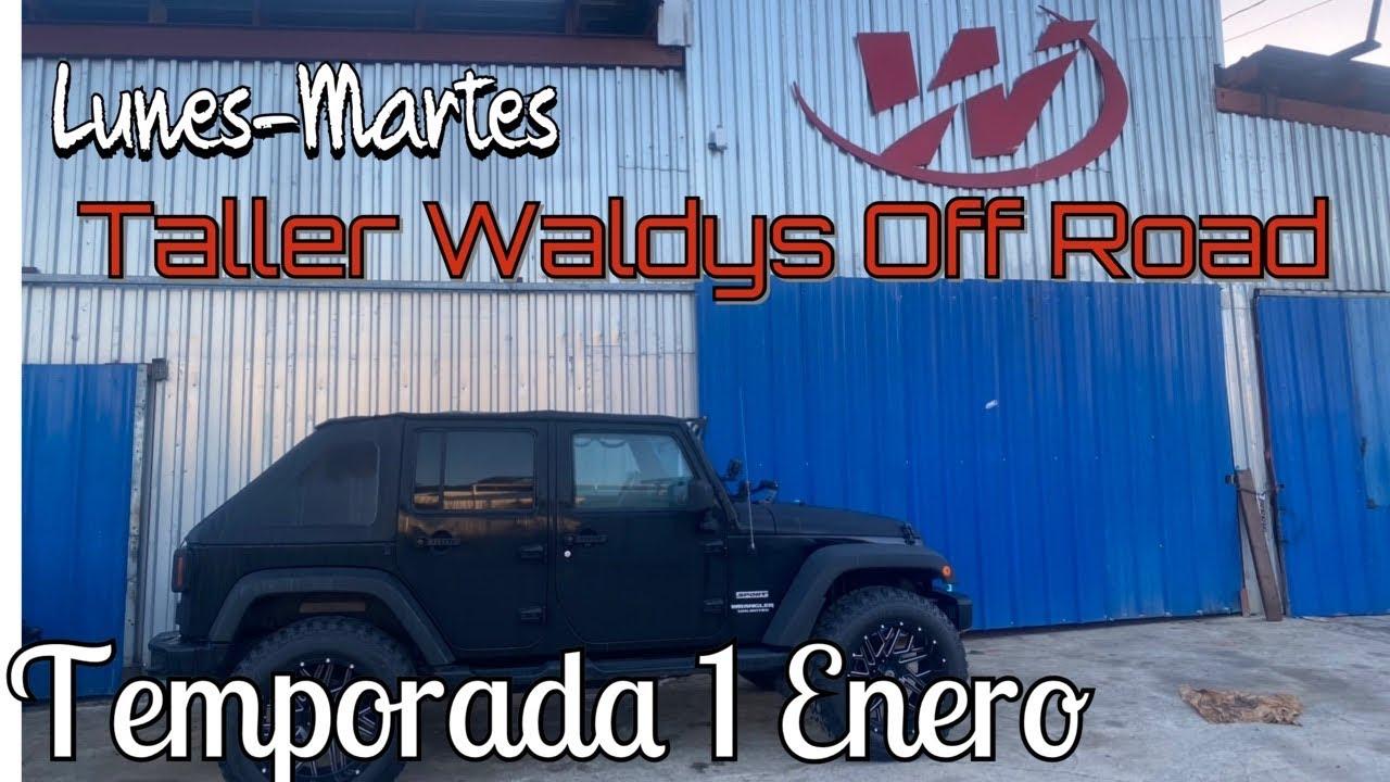 Temporada Enero Lunes y Martes Taller Waldys Off Road