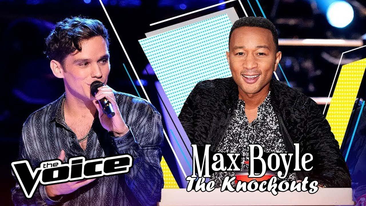 """Max Boyle canta """"When The Party's Over"""" en los Knockouts de La Voz USA Temporada 17"""