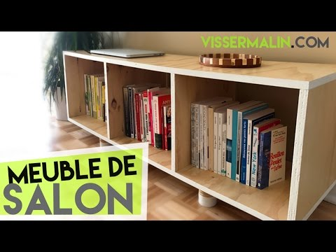 Comment Fabriquer Un Meuble Bas De Salon Ep37 Youtube