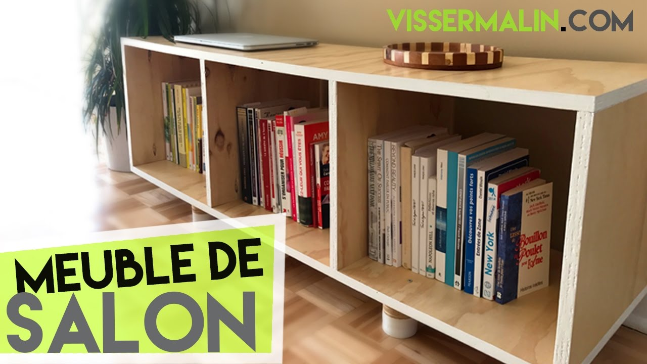Meuble Bas Long Salon Comment Fabriquer Un Meuble Bas De Salon Ep37