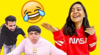 Trying Viral Challenges with Brother and Sister  | Rimorav Vlogs