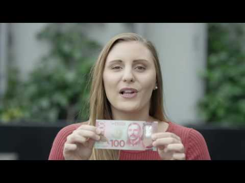 Brighter Money – ZM's Georgia and Guy check out the $100 note