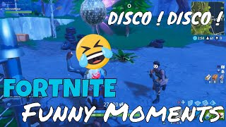 ▶DISCO DISCO FORTNITE TROLL DANCE !!! Funny Moments