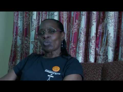 Althea Coombs-Rivas feels empowered and proud to be a Domestic Worker