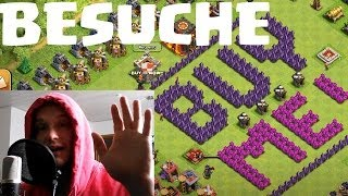 [facecam] BESUCHE UND REVIEWS || CLASH OF CLANS || Let's Play COC [Deusch/German HD]