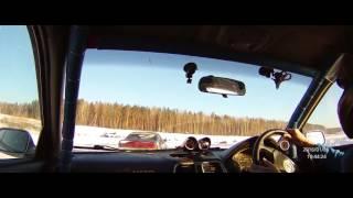Яркие моменты ледовых кольцевых гонок Эндуранс