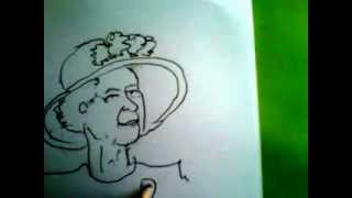 How to draw the Queen