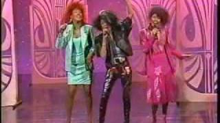 The Pointer Sisters - Promoting the Contact album (1 of 2)