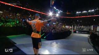 John Cena Returns From Broken Nose With