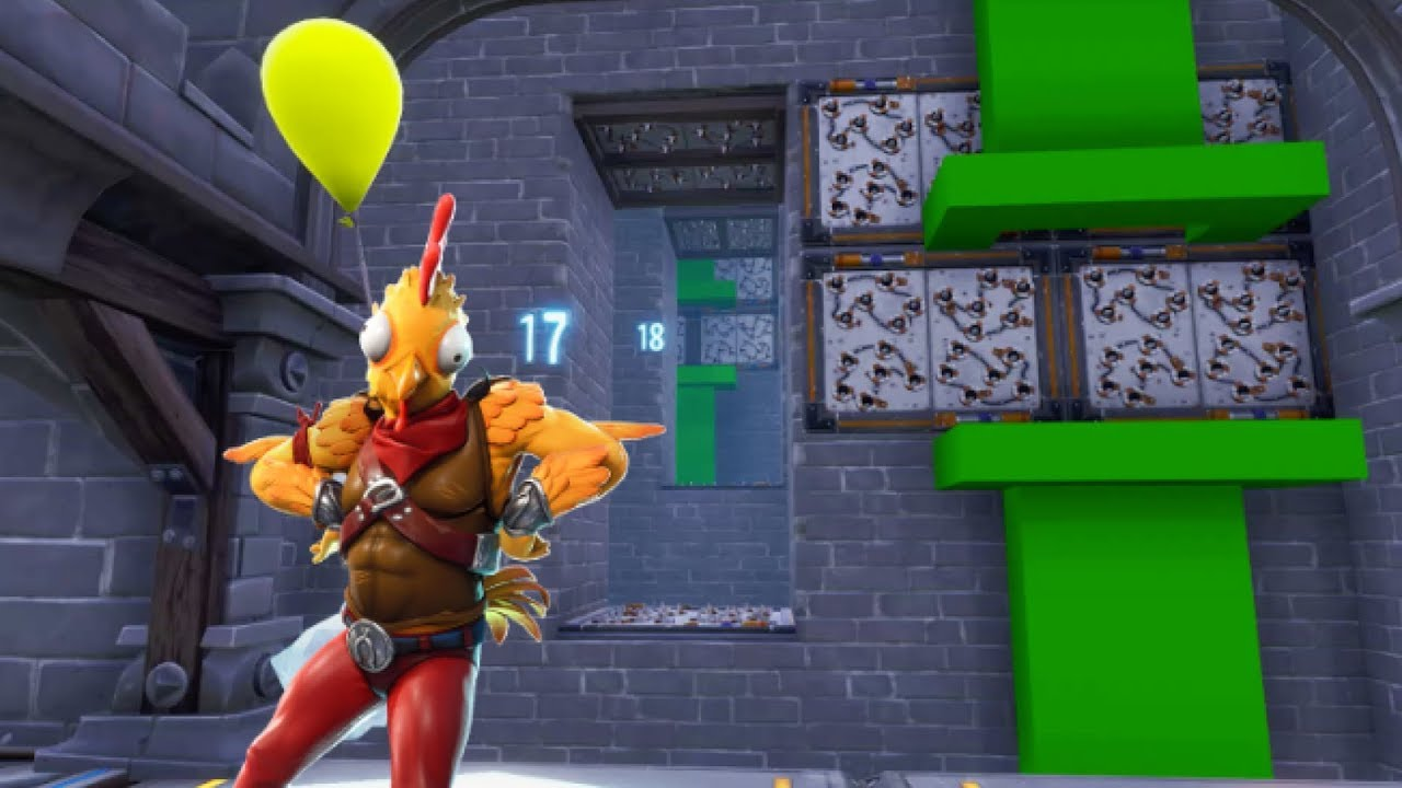 FLAPPY BIRD Parkour Map In Fortnite Creative! (with code ...