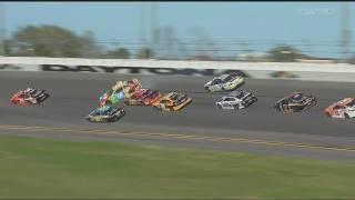 Monster Energy NASCAR Cup Series 2017. Daytona 500. Big One