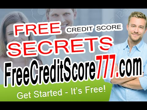 Free Credit Report & Score Secrets