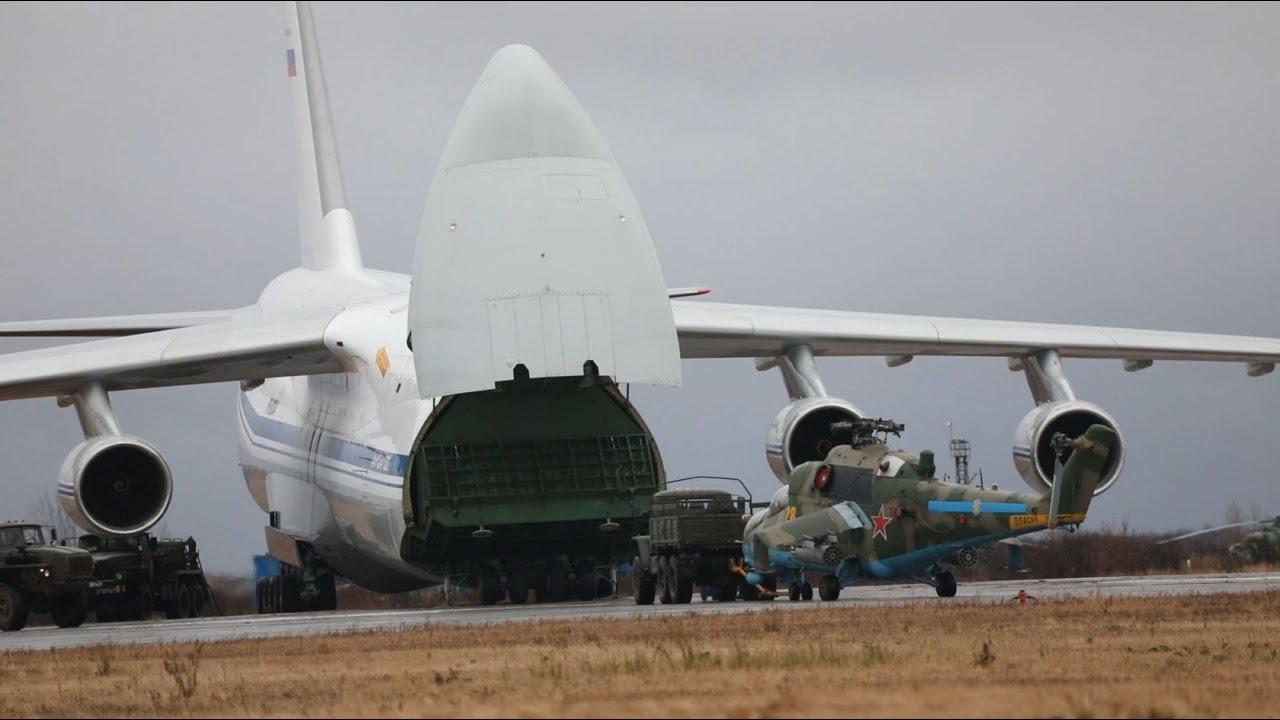 Доставка российских вертолетов в зону нагорно-карабахского конфликта