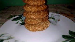 Овсяное печенье без муки,яиц и сахара