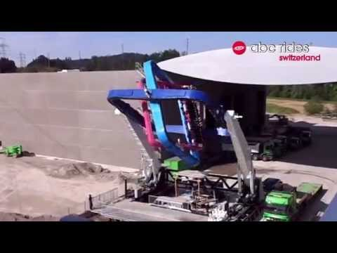 Holy Cow: This Amusement Park Ride is a Giant Rotational Molding Machine
