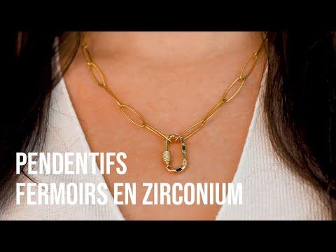 Créer des bijoux incontournables avec des pendentifs fermoirs en zirconium