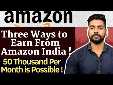 How to earn money from amazon links