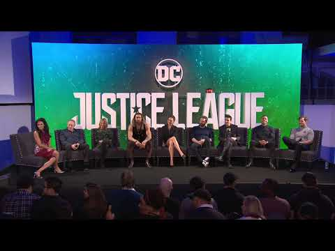 Justice League Press Conference London 2017