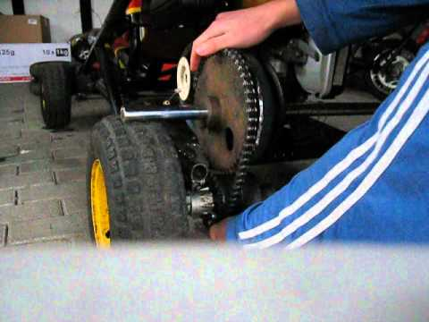 Go Kart Clutch Mechanism
