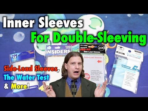 MTG - Inner Sleeves For Double-Sleeving - Compare Side-loading Sleeves For Magic: The Gathering