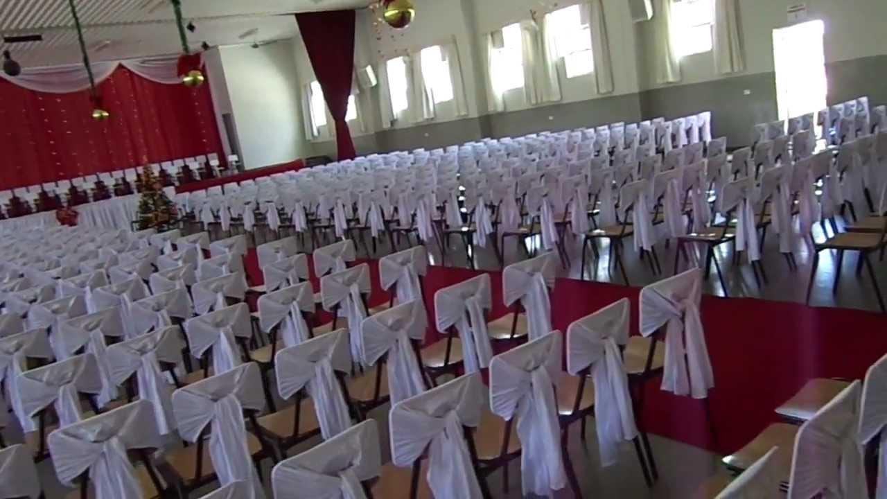 Decoraç u00e3o Natal Formatura Colégio S u00e3o José YouTube -> Decoração De Natal Simples Escola