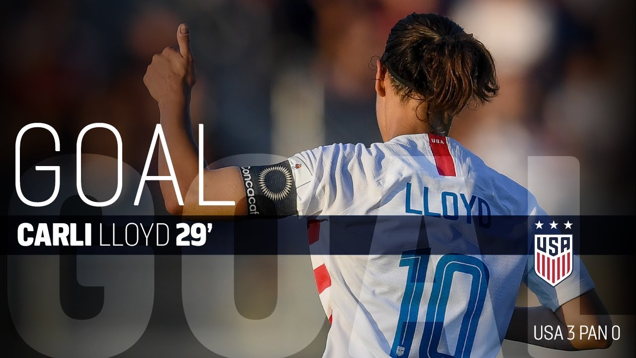 wholesale dealer e4962 c1927 WNT vs. Panama: Carli Lloyd Second Goal - Oct. 7, 2018