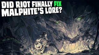 Does Malphite finally make sense?    lore discussion