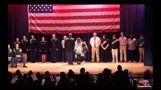 St. James High School Veterans Day Ceremony 11/11/2019