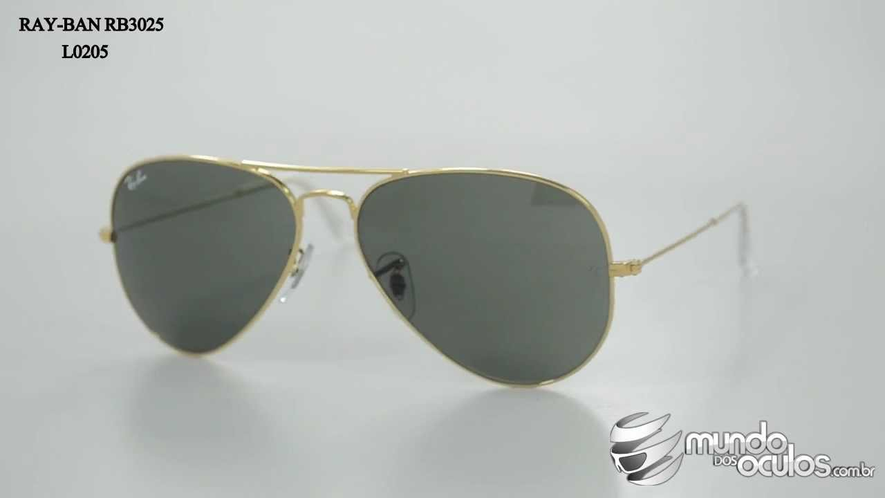 Ray-Ban RB3025 Sonnenbrille Gold 001/33 58mm oZxi03eOtO