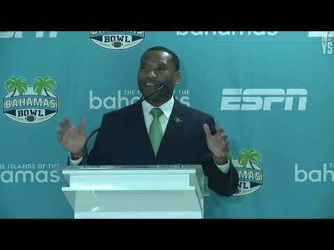 2017 Bahamas Bowl Welcome Press Conference - Dec. 1, 2017