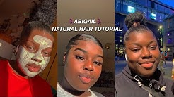 Abigail 🧞‍♀️Natural Hair Tutorial Compilation | Babykeledits Videos