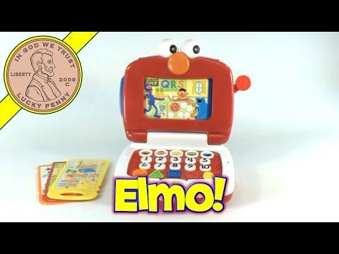 Fisher-Price Elmo Lot's To Learn Fun Laptop Sesame Street