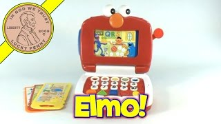 Fisher-price Elmo Lot's To Learn Fun Laptop Toy Sesame Street
