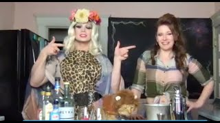 Quarantine Cocktails: Carolyn Paine & Alex Zarlengo Channel the Tiger King