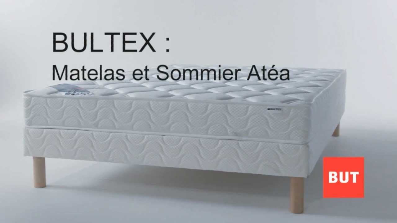 Matelas Et Sommier Atea Par Bultex Collection But 2012 2013 Youtube