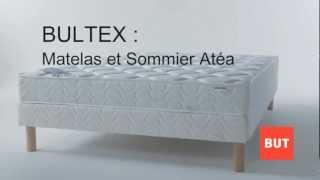 Matelas et sommier Atea par Bultex, collection BUT 2012-2013