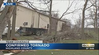 nws confirms tornado in highland co