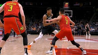 Jeremy Lin Highlights - Bucks at Hawks 1/13/19