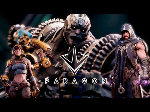 видео: paragon - Играем за gadget\riktor\gideon